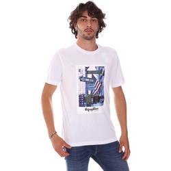 Textiel Heren T-shirts korte mouwen Refrigiwear RM0T24400JE9101 Wit
