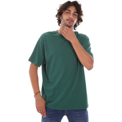Textiel Heren T-shirts korte mouwen Invicta 4451244/U Groen