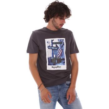 Textiel Heren T-shirts korte mouwen Refrigiwear RM0T24400JE9101 Grijs