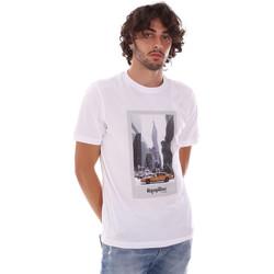 Textiel Heren T-shirts korte mouwen Refrigiwear RM0T25500JE9101 Wit