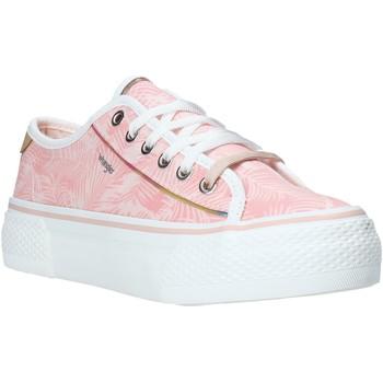 Schoenen Dames Lage sneakers Wrangler WL01640A Roze