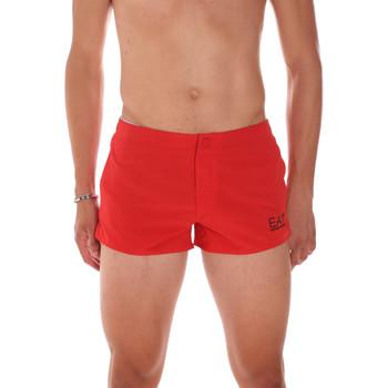 Textiel Heren Zwembroeken/ Zwemshorts Ea7 Emporio Armani 902005 7P730 Rood