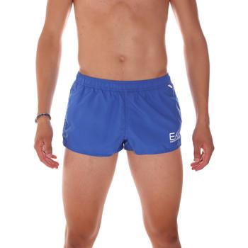 Textiel Heren Zwembroeken/ Zwemshorts Ea7 Emporio Armani 902008 7P731 Blauw