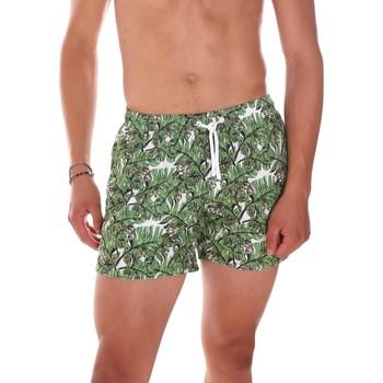 Textiel Heren Zwembroeken/ Zwemshorts Ea7 Emporio Armani 902000 7P755 Groen