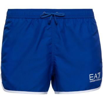 Textiel Heren Zwembroeken/ Zwemshorts Ea7 Emporio Armani 902007 7P740 Blauw