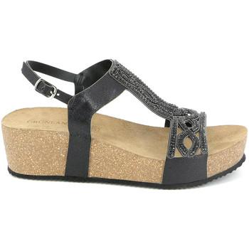 Schoenen Dames Sandalen / Open schoenen Grunland SB1283 Zwart