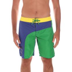Textiel Heren Korte broeken / Bermuda's Ea7 Emporio Armani 902003 6P742 Groen