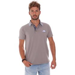 Textiel Heren Polo's korte mouwen Bradano 509 Grijs