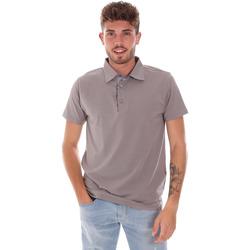 Textiel Heren Polo's korte mouwen Bradano 600 Grijs