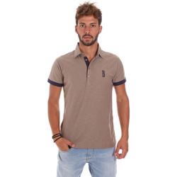 Textiel Heren Polo's korte mouwen Bradano 201014M Beige