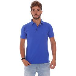 Textiel Heren Polo's korte mouwen Bradano 201014M Blauw