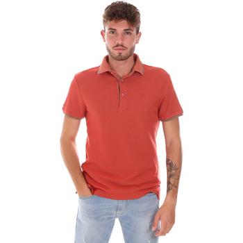 Textiel Heren Polo's korte mouwen Gas 310124 Oranje