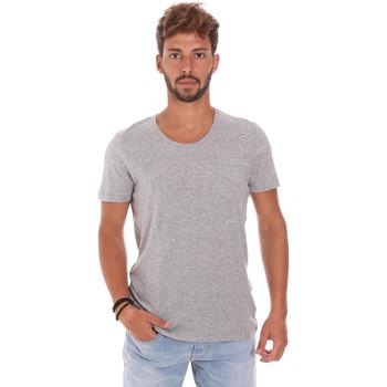 Textiel Heren T-shirts korte mouwen Antony Morato MMKS01003 FA100092 Grijs