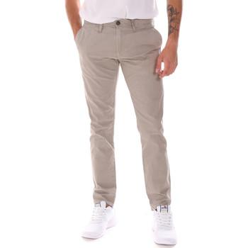 Textiel Heren Broeken / Pantalons Gaudi 911BU25021 Beige