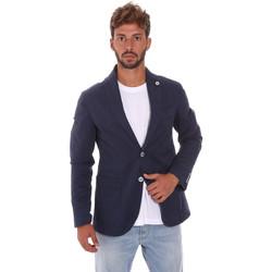 Textiel Heren Jasjes / Blazers Sei3sei PZG8 7149 Blauw