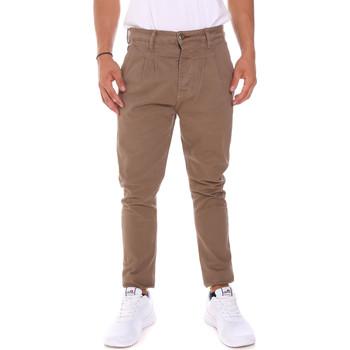 Textiel Heren Broeken / Pantalons Gaudi 62BU20000 Beige