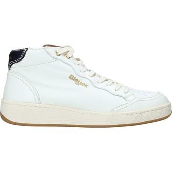 Schoenen Dames Hoge sneakers Blauer F1OLYMPIA05/LEA Wit