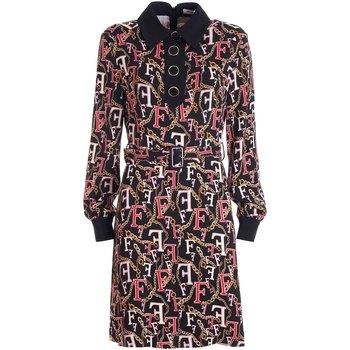 Textiel Dames Korte jurken Fracomina FR21WD1015W426N4 Zwart
