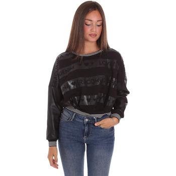 Textiel Dames Sweaters / Sweatshirts Fracomina FP21WT9015F400N5 Zwart