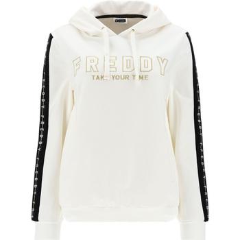 Textiel Dames Sweaters / Sweatshirts Freddy F1WCLS4 Wit