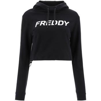 Textiel Dames Sweaters / Sweatshirts Freddy F1WFTS3 Zwart