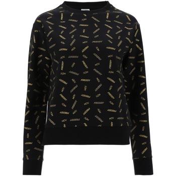 Textiel Dames Sweaters / Sweatshirts Freddy F1WFTS7C Zwart