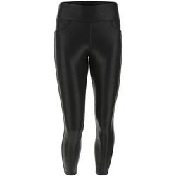 Textiel Dames Broeken / Pantalons Freddy F1WSLP12 Zwart