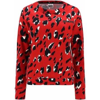 Textiel Dames Sweaters / Sweatshirts Freddy F1WSLS6C Rood