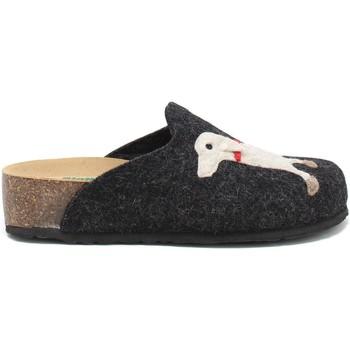 Schoenen Dames Sloffen Bionatura 12ARGO-I-FELA118 Zwart
