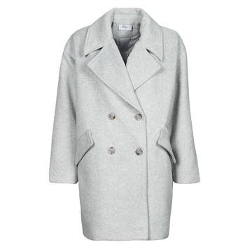Textiel Dames Mantel jassen Betty London PYAME Grijs