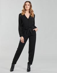Textiel Dames Jumpsuites / Tuinbroeken Moony Mood  Zwart