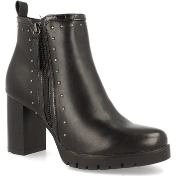 Schoenen Dames Enkellaarzen Clowse VR1-357 Negro