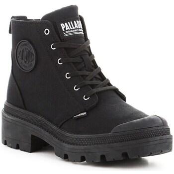 Schoenen Laarzen Palladium Pallabase Twill Noir