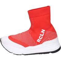 Schoenen Dames Hoge sneakers Rucoline BH885 Rouge