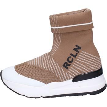 Schoenen Dames Hoge sneakers Rucoline BH886 Beige