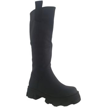 Schoenen Dames Hoge laarzen Buonarotti 2E-1447 Negro