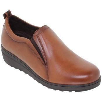 Schoenen Dames Derby Tupie Zapatos casual de piel by Amelie Marron