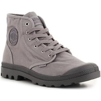 Schoenen Hoge sneakers Palladium Pampa High HI Gris