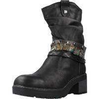 Schoenen Dames Enkellaarzen MTNG 50003M Zwart