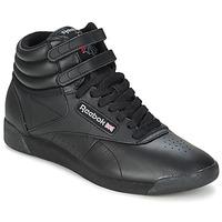 Schoenen Dames Lage sneakers Reebok Classic FREESTYLE HI Zwart