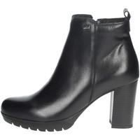 Schoenen Dames Laarzen Valleverde 49370 Black