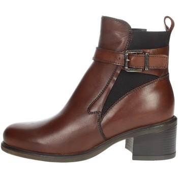 Schoenen Dames Laarzen Valleverde 49240 Brown