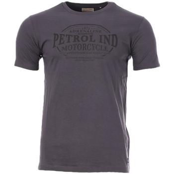 Textiel Heren T-shirts korte mouwen Petrol Industries  Grijs