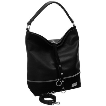 Tassen Dames Handtassen kort hengsel Badura 89660 Noir