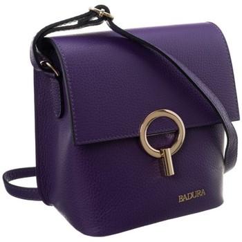 Tassen Dames Handtassen kort hengsel Badura 85060 Violet