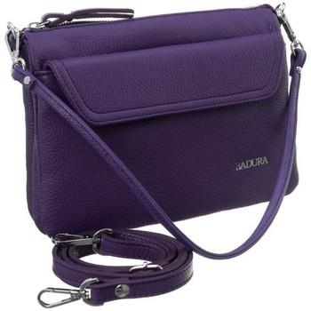 Tassen Dames Handtassen kort hengsel Badura 84980 Violet