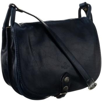 Tassen Dames Handtassen kort hengsel Badura TD182GNCD Bleu marine