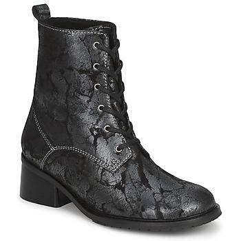 Schoenen Dames Enkellaarzen Tiggers ROMA Zwart