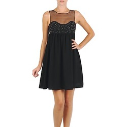 Textiel Dames Korte jurken Manoush ROBE ETINCELLE Zwart