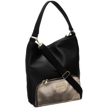 Tassen Dames Handtassen lang hengsel Badura 126090 Noir